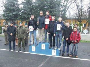 III miejsce AZSu w Biegach Przełajowych