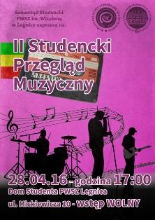 W Domu Studenta zagrają studenckie zespoły muzyczne !