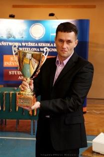 Łukasz Stawarz w gronie najlepszych trenerów Zagłębia Miedziowego  2013 roku