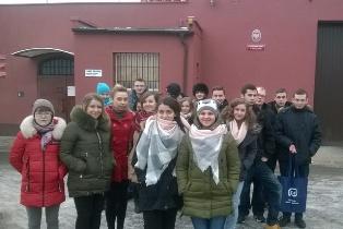 Studenci w Zakładzie Karnym w Wołowie