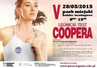 Weź udział w legnickim Teście Coopera !