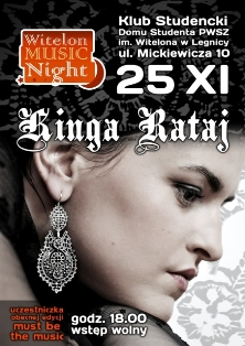 Witelon Music Night z Kingą Rataj
