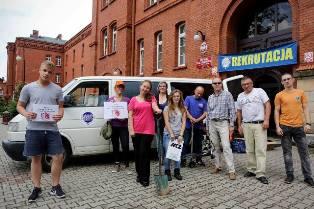 Wolontariusze z PWSZ im. Witelona w Legnicy wyjechali na Ukrainę