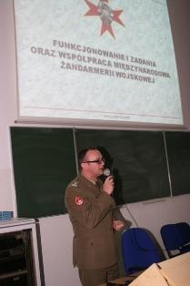 Ppłk dr Robert Pawlicki o żandarmerii