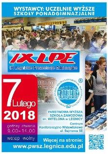 Zgłoszenia wystawców na IX Legnickie Prezentacje Edukacyjne